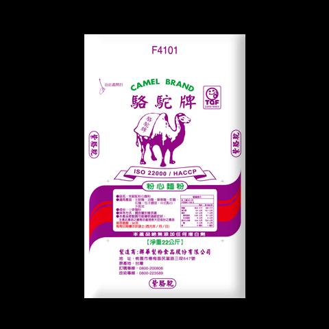 紫駱駝粉心麵粉