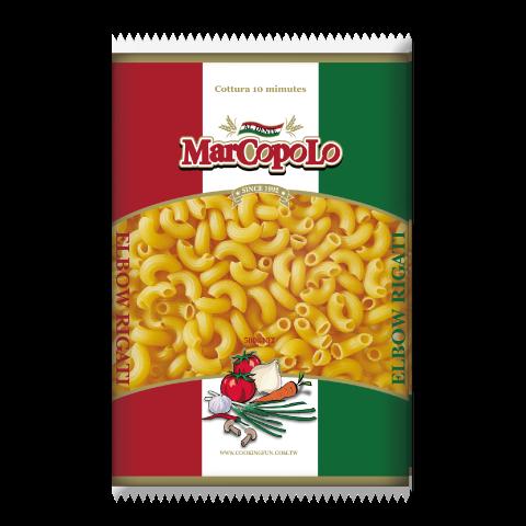马可波罗稜纹弯管麵